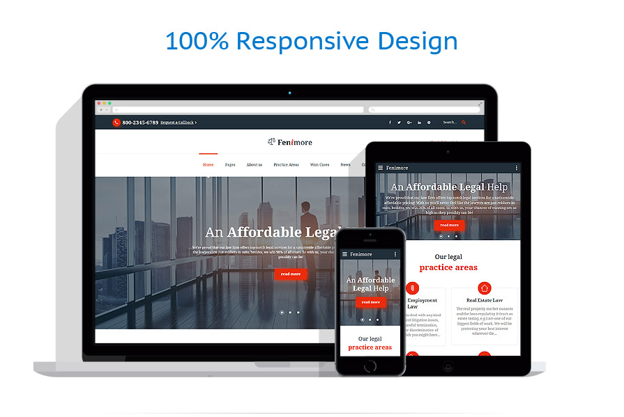responsive template | Law | ID: 3093