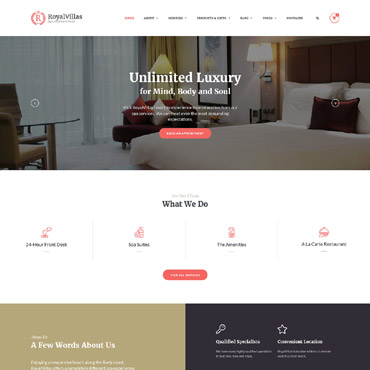 template | Hotels