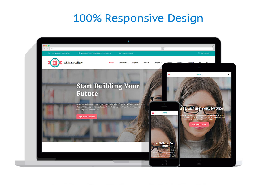 responsive template | Education | ID: 3098