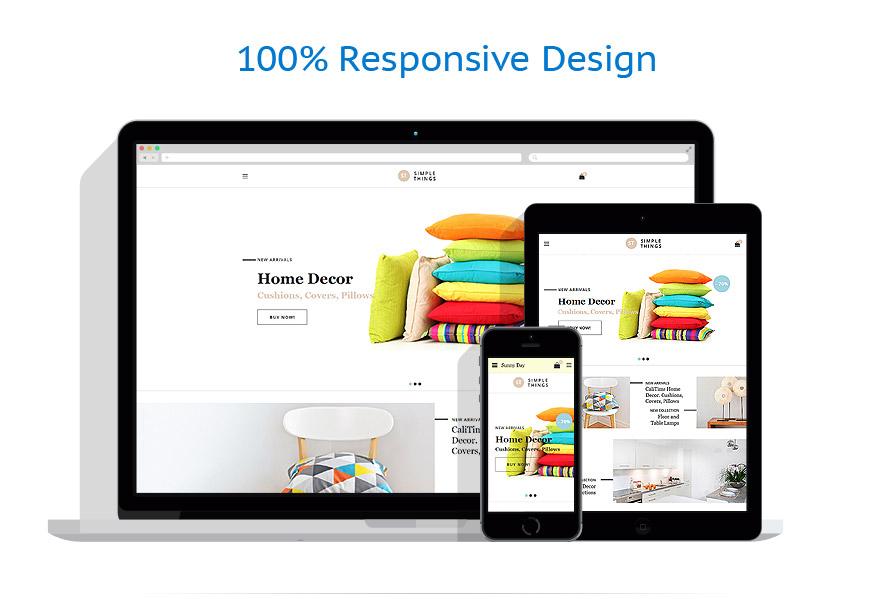 responsive template | Interior & Furniture | ID: 3101