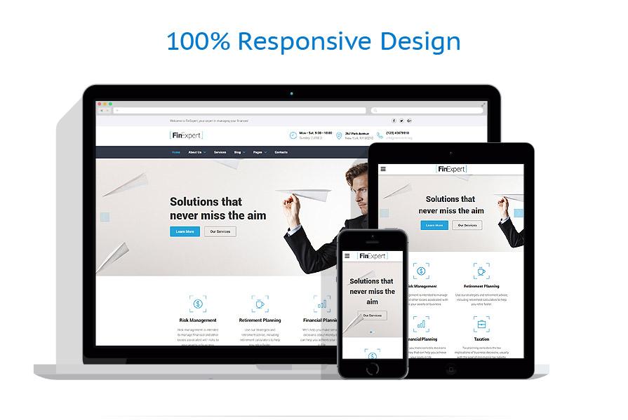 Sablon responsive de | Business | ID: 3103
