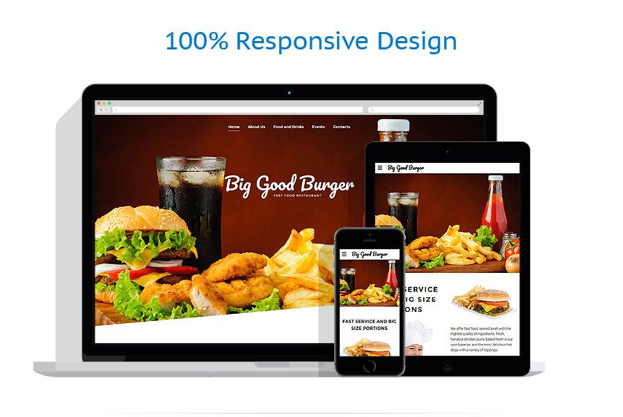 Sablon responsive de | Cafenele & Restaurante | ID: 3105