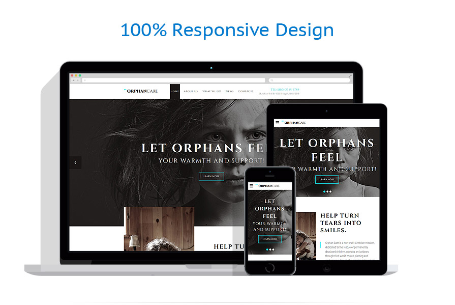 responsive template | Charity | ID: 3109