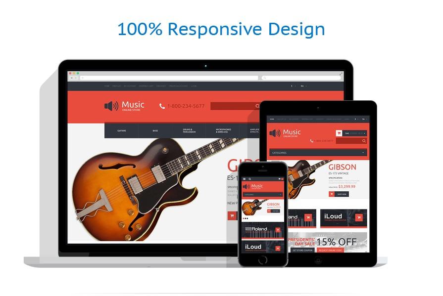 responsive template | Music | ID: 311