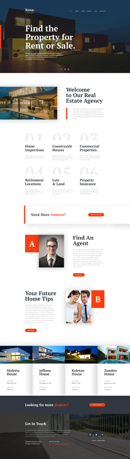 template | Real Estate