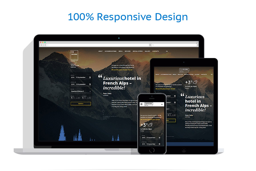responsive template | Hotels