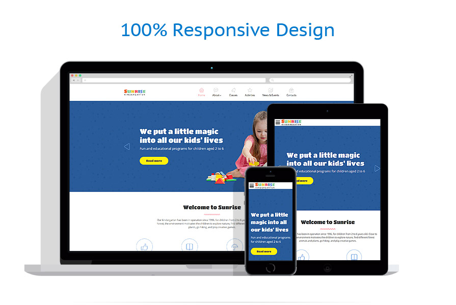 responsive template | Family | ID: 3129