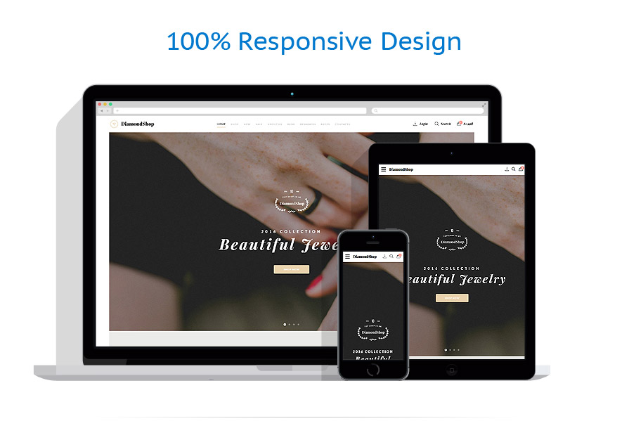 responsive template | Jewelry