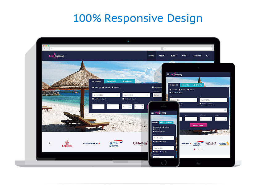 responsive template | Travel