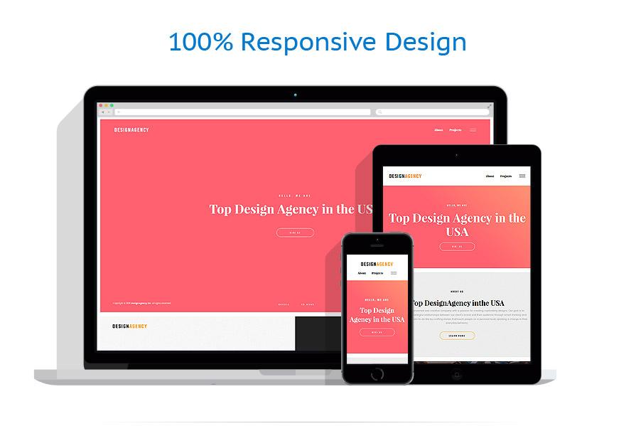 responsive template | Web design | ID: 3157