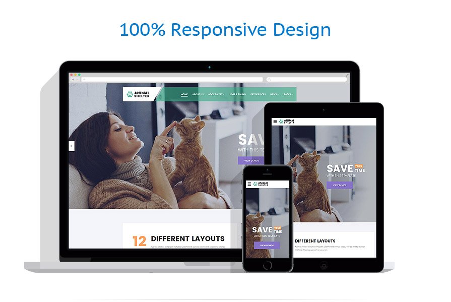 responsive template | Animals & Pets | ID: 3158