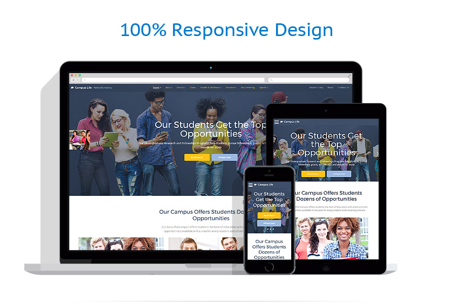 responsive template | Education | ID: 3159