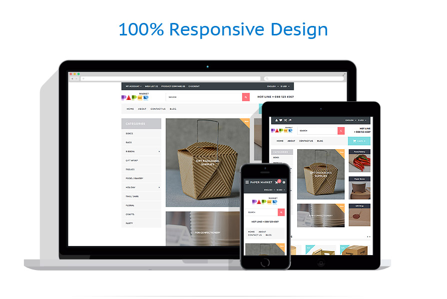 responsive template | Industrial | ID: 3161