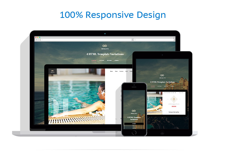 responsive template | Hotels | ID: 3167