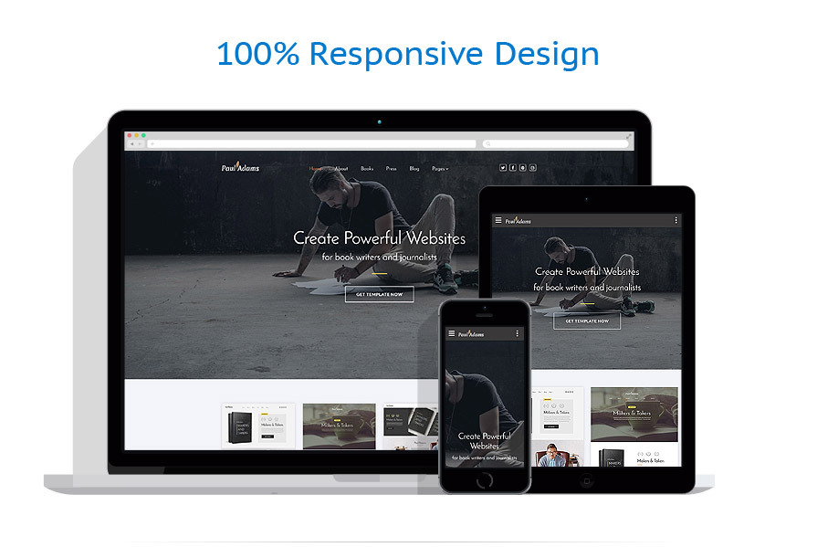 Responsive website templates | Books