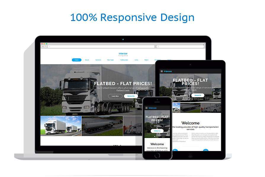 responsive template | Transportation | ID: 3185