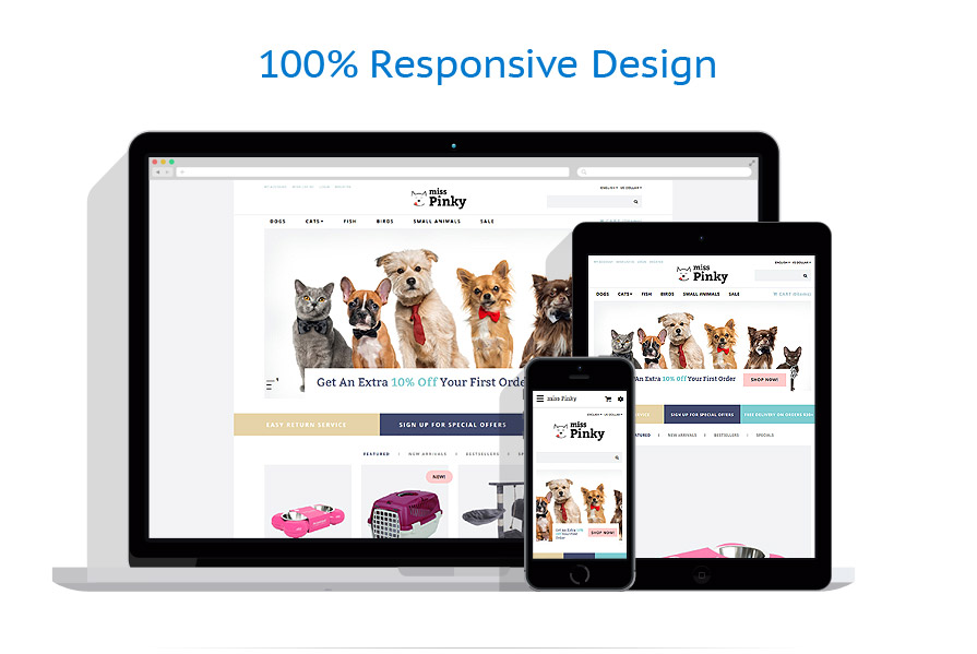 responsive template | Animals & Pets | ID: 3192
