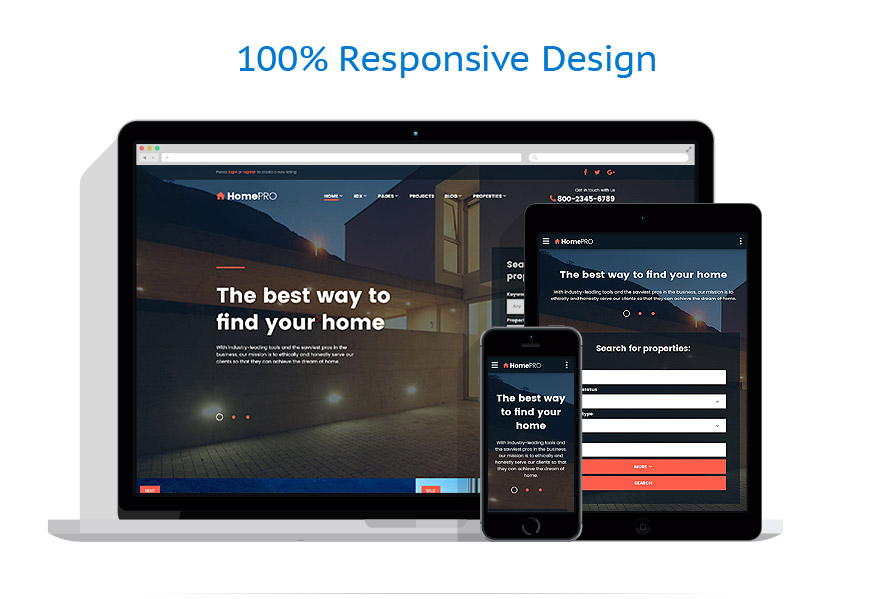 responsive template | Real Estate | ID: 3193