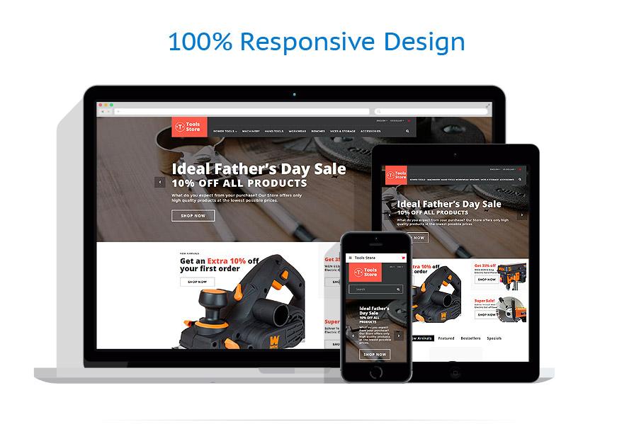 responsive template | Tools & Equipment | ID: 3197