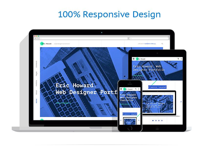 Sablon responsive de | Web design | ID: 3198