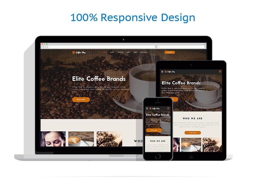 Sablon responsive de | Cafenele & Restaurante | ID: 3204