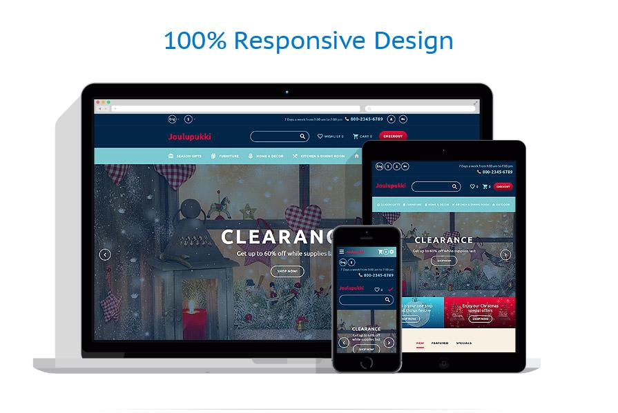 responsive template | Christmas Templates | ID: 3206