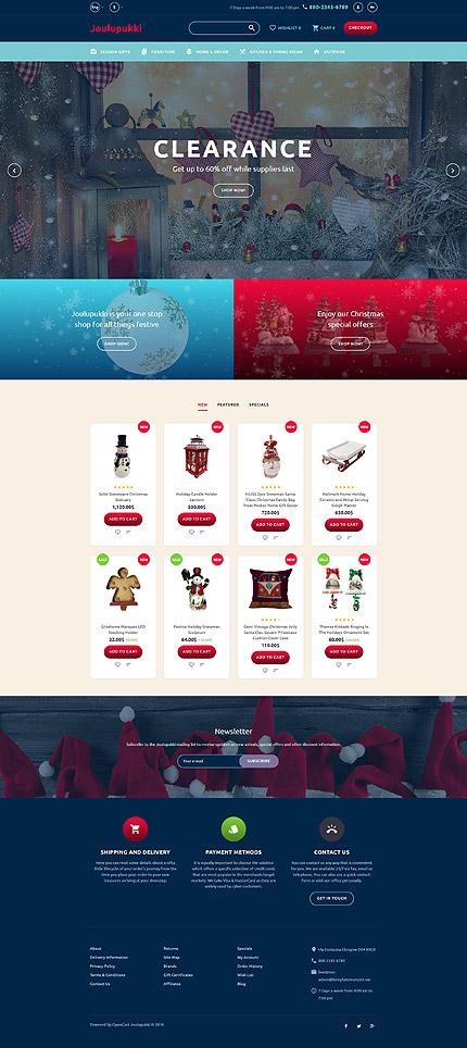 template | Christmas Templates | ID: 3206