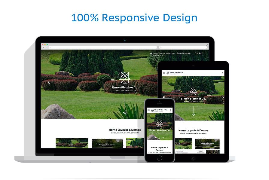 Sablon responsive de | Design Exterior | ID: 3207