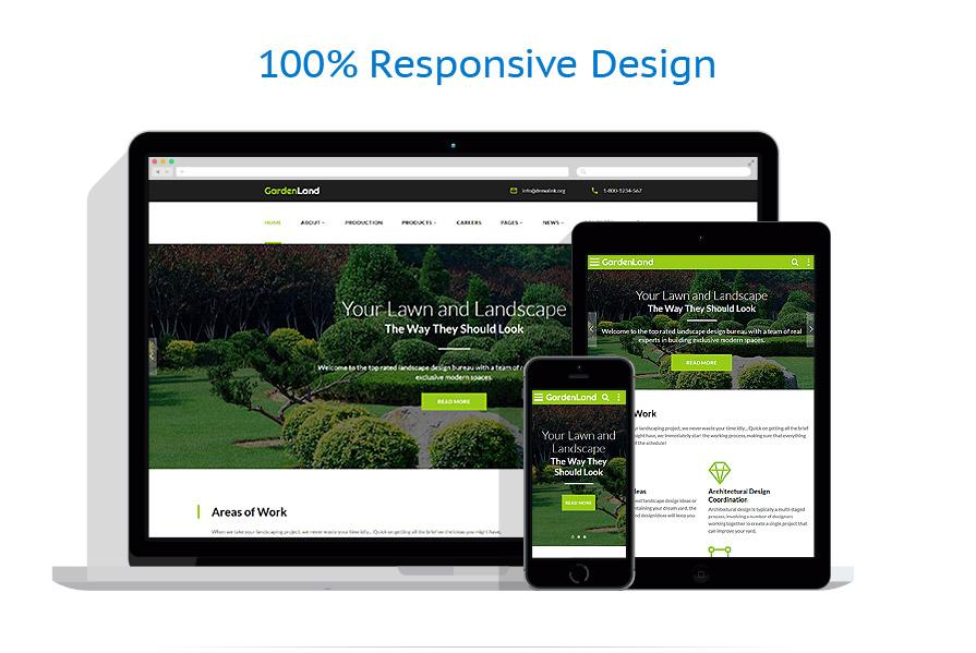 Sablon responsive de | Design Exterior | ID: 3210