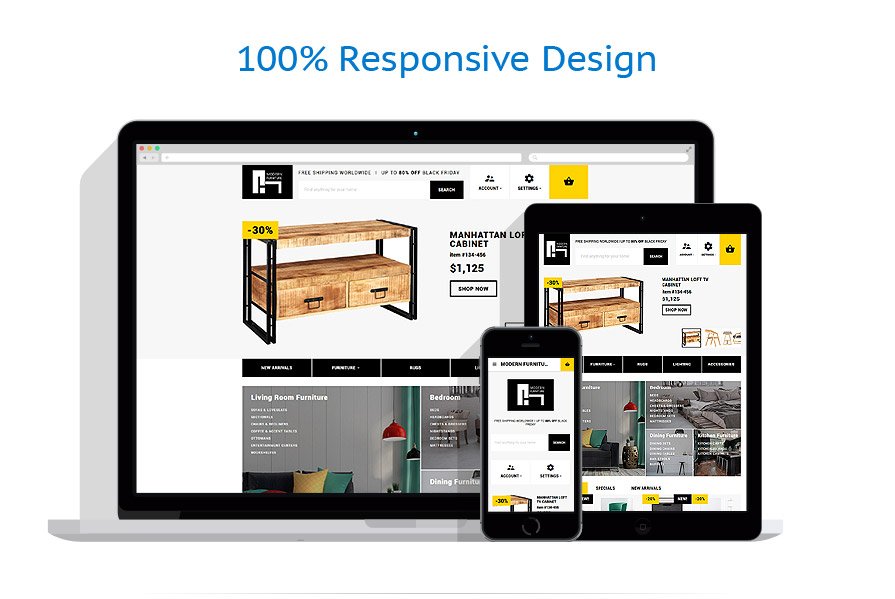 responsive template | Interior & Furniture