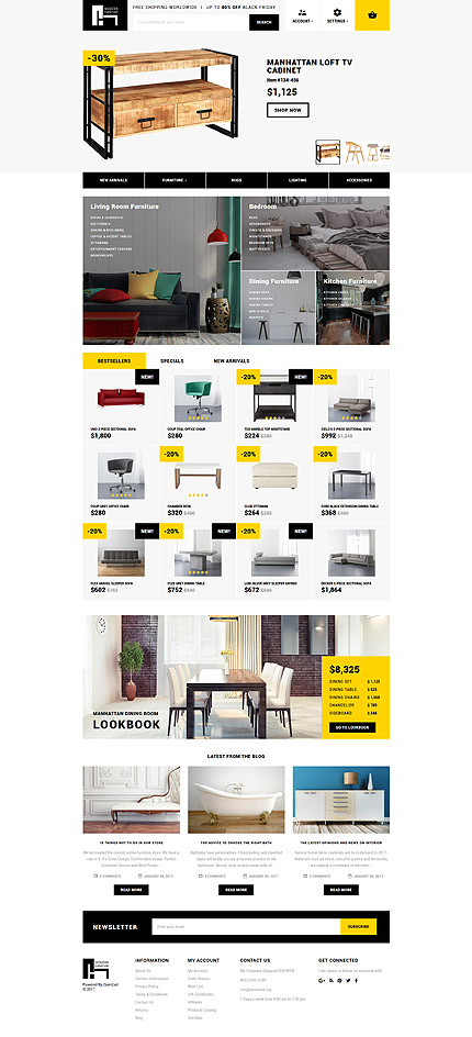 template | Interior & Furniture