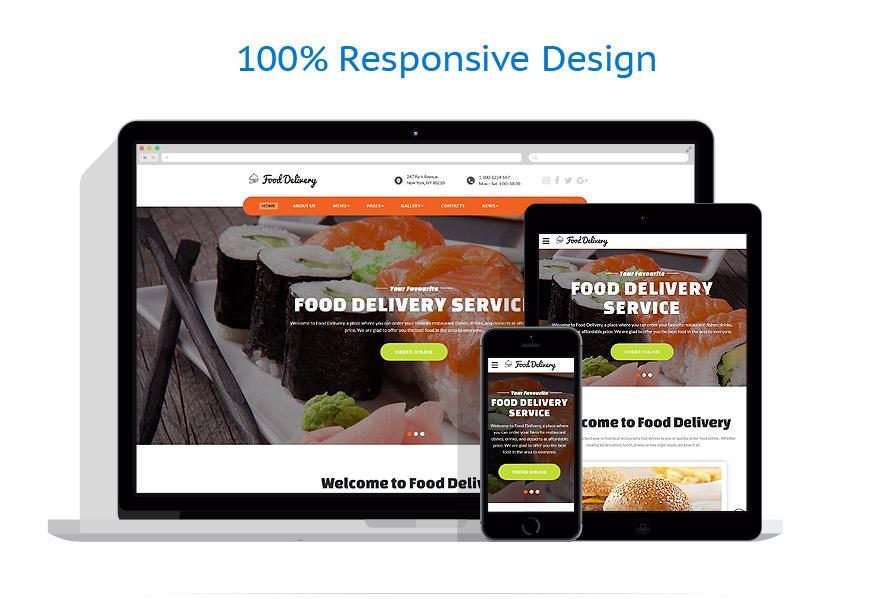 Sablon responsive de | Cafenele & Restaurante | ID: 3213