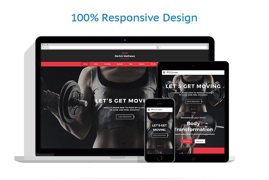 responsive template | Sport | ID: 3215