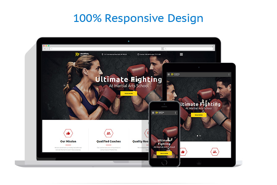 responsive template | Sport