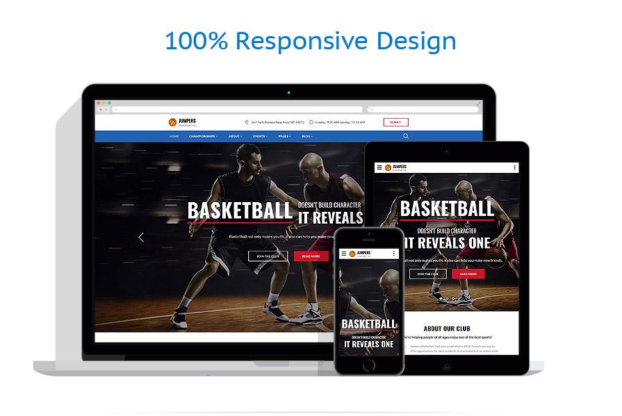 responsive template | Sport | ID: 3229