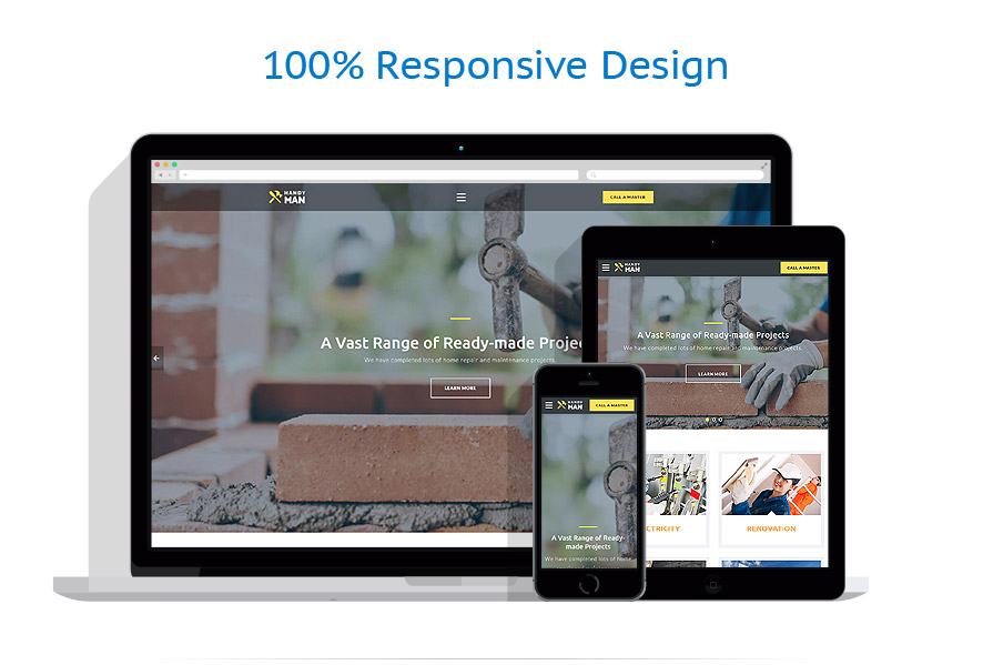 responsive template | Maintenance Services | ID: 3230