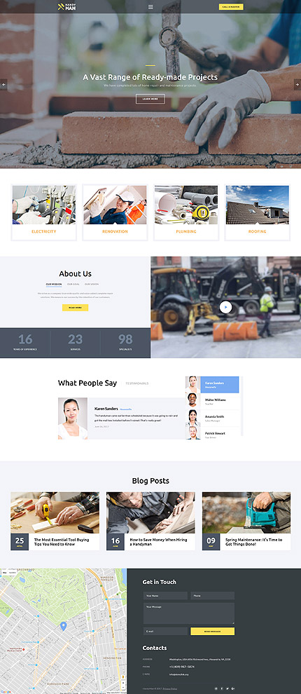 template | Maintenance Services | ID: 3230