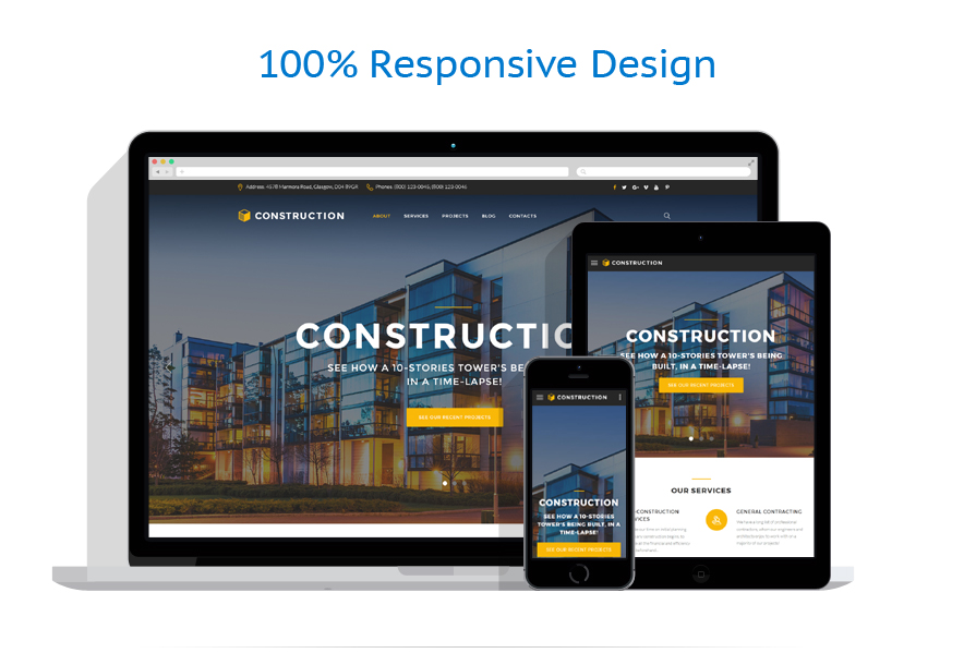 responsive template | Architecture | ID: 3233