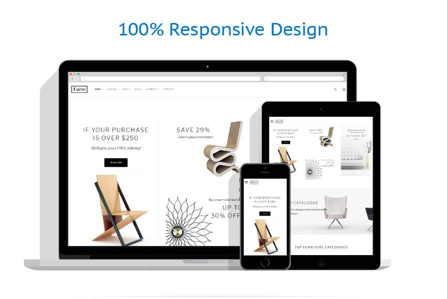 responsive template   Interior & Furniture   ID: 3236