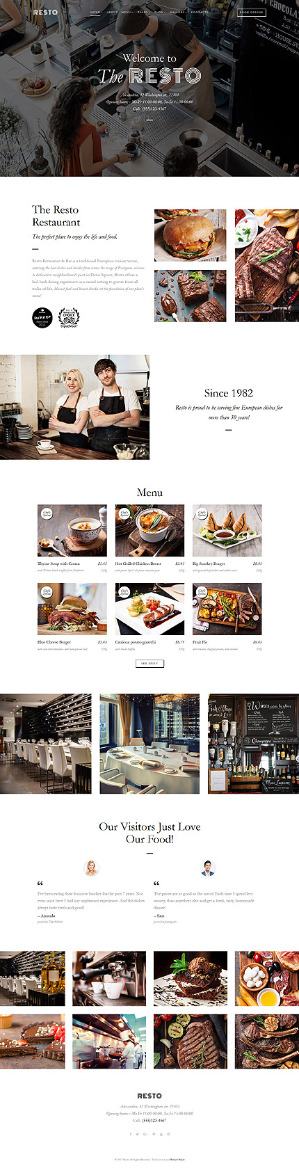 template | Cafe and Restaurant | ID: 3240