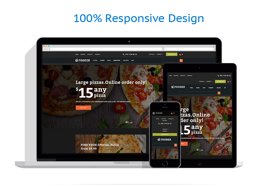 Sablon responsive de | Cafenele & Restaurante | ID: 3242