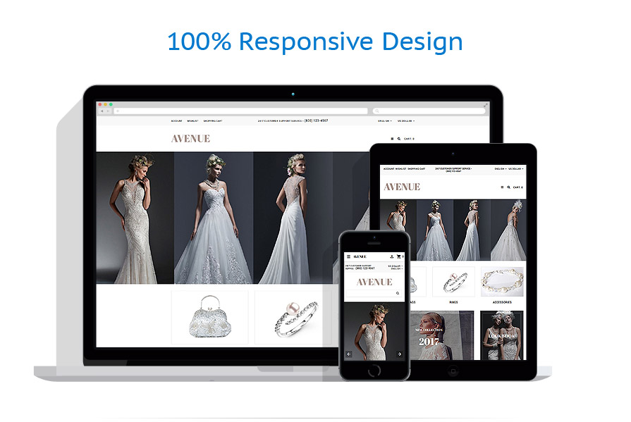 responsive template | Wedding