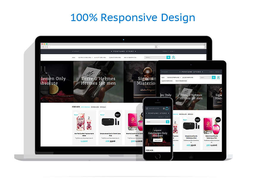responsive template | Beauty