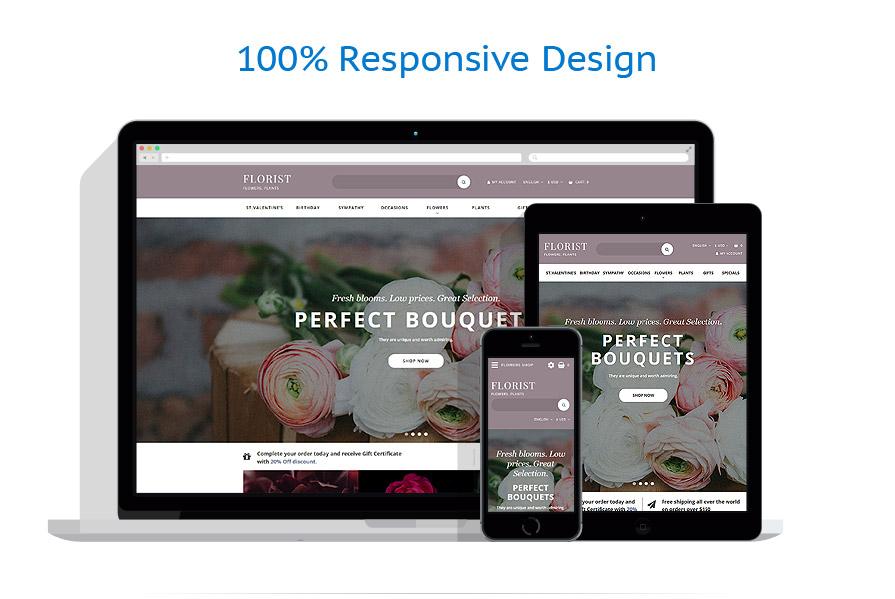 responsive template | Flowers | ID: 3256