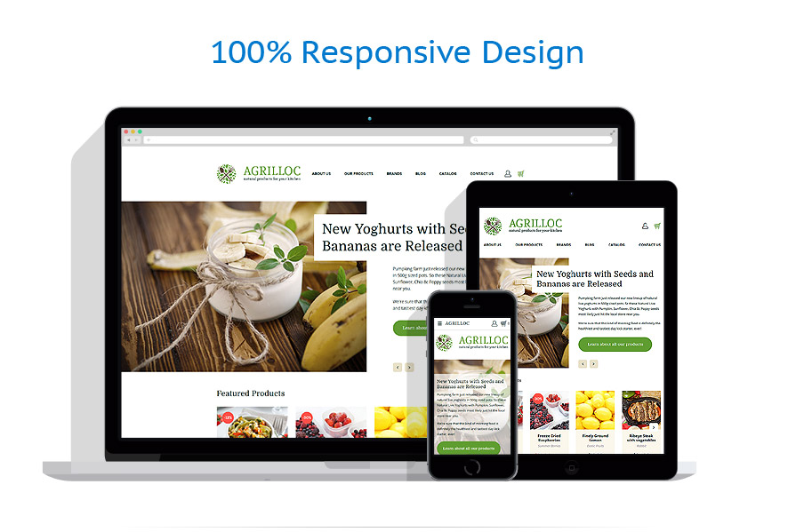 responsive template | Food & Drink | ID: 3260
