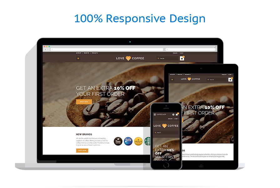 responsive template   Cafe and Restaurant   ID: 3263
