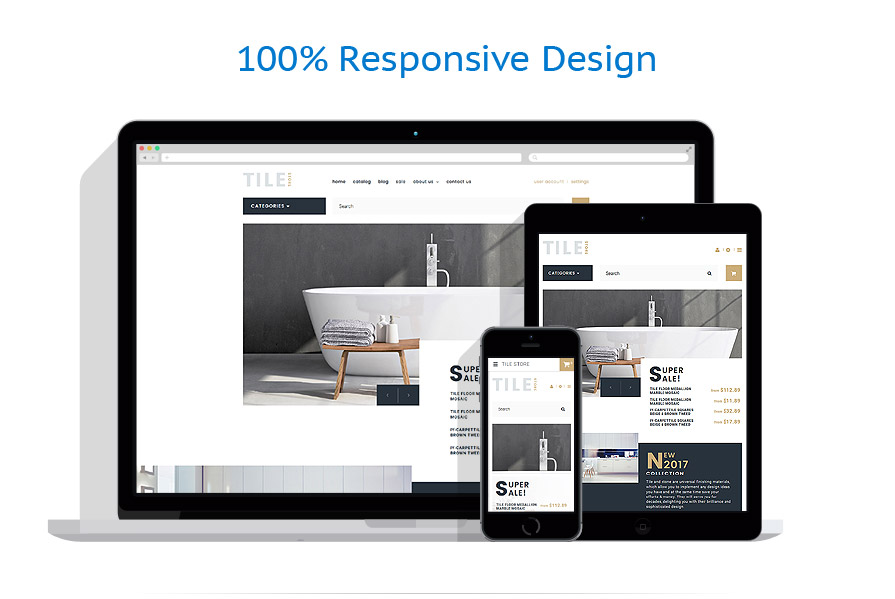 responsive template   Industrial   ID: 3289