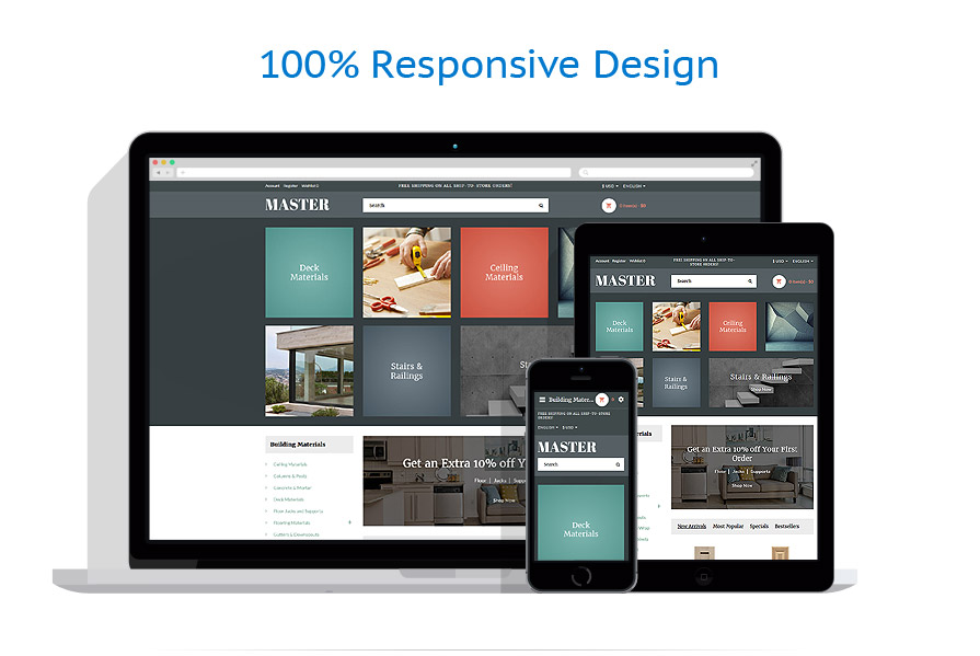 responsive template | Industrial | ID: 3333