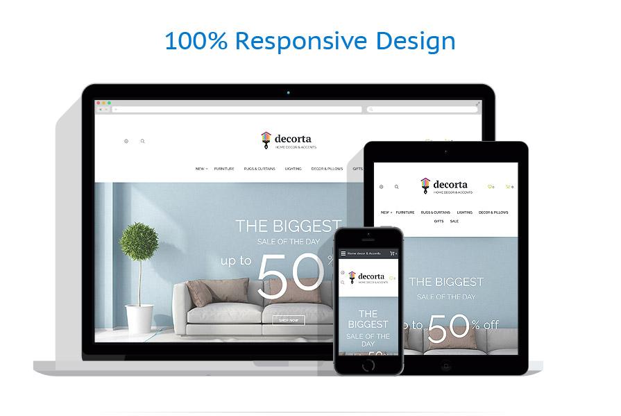 Sablon responsive de | Design Interior & Mobila | ID: 3334