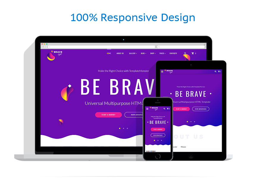 responsive template | Software | ID: 3336